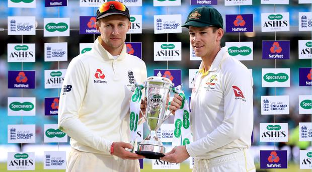 England and Australia drew the Ashes series 2-2 (Mike Egerton/PA)