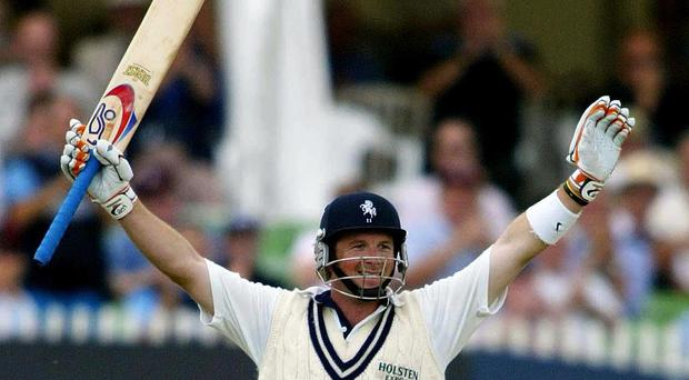 Darren Stevens hit a career-best score against Yorkshire (Gareth Fuller/PA)