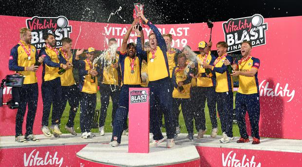 Essex beat Worcestershire to win the trophy (Anthony Devlin/PA)