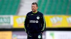 Happy man: Ireland coach Graham Ford backs his stars