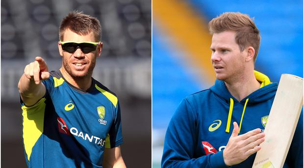 Steve Smith and David Warner are in the Hundred draft (PA)