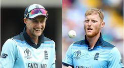 Joe Root and Ben Stokes know where they will be playing (PA)