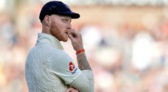 "Ben Stokes paid tribute to the ""wonderful relationship"" he and his wife enjoy. (Martin Rickett/PA)"