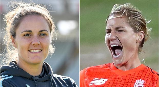 Nat Sciver and Katherine Brunt have announced their engagement (Jacob King/David Davies/PA)
