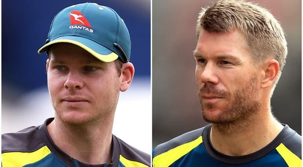 Steve Smith and David Warner will be among the players available to be drafted (David Davies/Simon Cooper/PA)