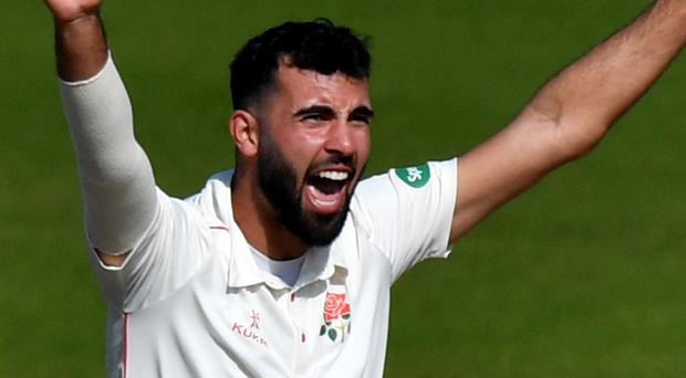 Saqib Mahmood is hoping to make his England debut in New Zealand (Anthony Devlin/PA)