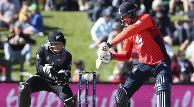 James Vince is looking to build on his impressive innings in Christchurch (Martin Hunter/AP)