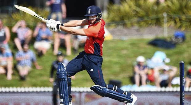 Dawid Malan was in formidable form with the bat against New Zealand (Chris Symes/AP)