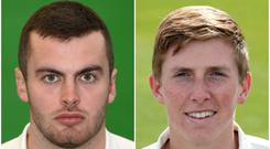 Dominic Sibley and Zak Crawley both scored hundreds for England (Tim Goode/ Gareth Fuller/PA)