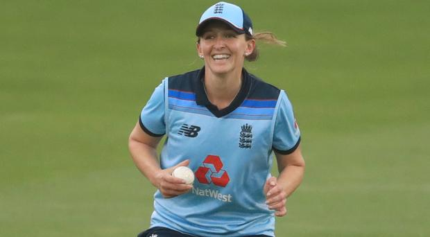 Kate Cross is part of the England squad to face Pakistan (Adam Davy/PA)