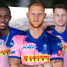 Jofra Archer, Ben Stokes and Jos Buttler (left to right) are staying with the Royals (Franchise handout)