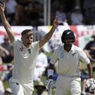 Sam Curran, pictured, snared Kane Williamson (Mark Baker/AP)