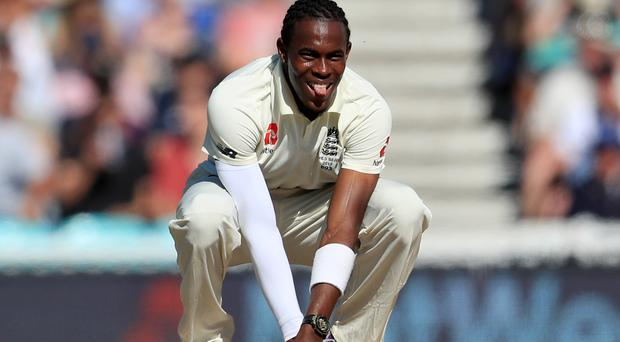Jofra Archer has been hurt by the racist incident in Mt Maunganui (Mike Egerton/PA)