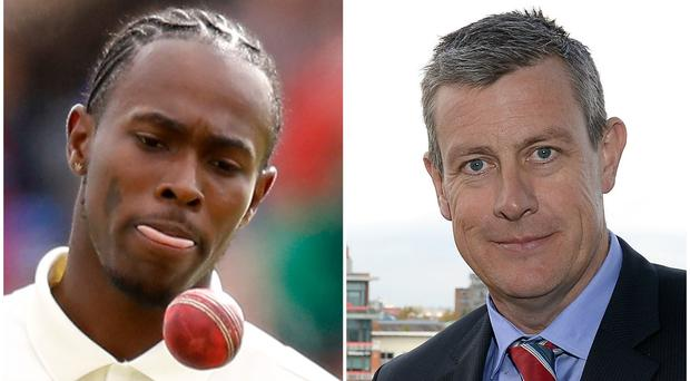 Jofra Archer has been described as 'gold' for England by Ashley Giles (Martin Rickett/PA)