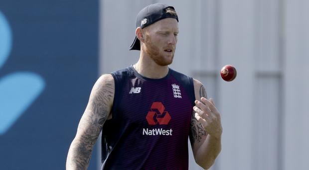Ben Stokes was restricted to just two expensive overs on the opening day (Mark Baker/AP)