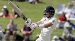 Joe Root struck a patient century (Mark Baker/AP)