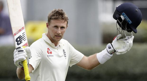 Joe Root ended his wait for a Test hundred in style (Mark Baker/AP)