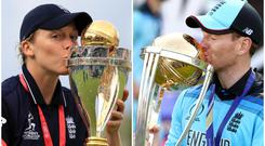 Heather Knight and Eoin Morgan have a history of success at Lord's (John Walton/Nick Potts/PA)