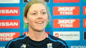 Heather Knight is hopeful women's cricket will lose no momentum that has built up in recent years (Ben Birchall/PA)