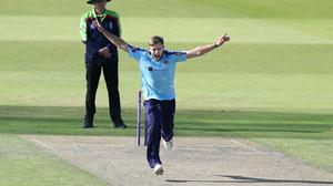 David Willey is among four Yorkshire players self-isolating (Martin Rickett/PA)