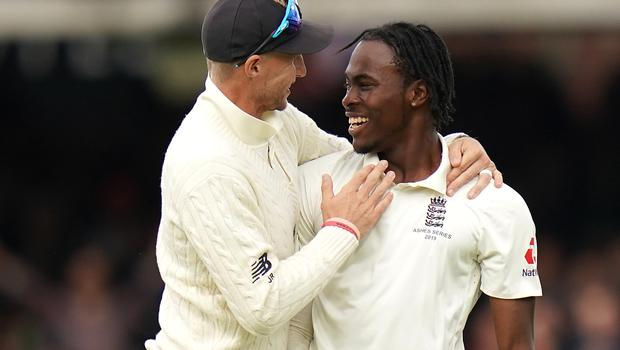 Jofra Archer, right, has been told to concentrate on his abilities rather than trying to find lateral movement (Mike Egerton/PA)