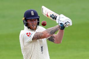 Ben Stokes was in fine form for England (Michael Steele/NMC Pool/PA)