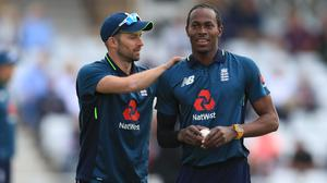 Mark Wood and Jofra Archer have not yet played in the same Test team (Mike Egerton/PA)