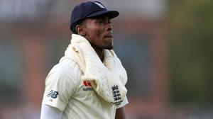 Jofra Archer believes his elbow is progressing well (Mike Egerton/PA)