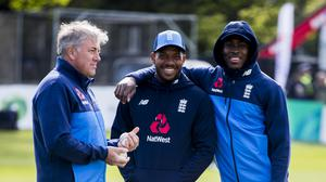 Chris Silverwood (left) is looking to get the best out of the likes of Jofra Archer (right) (Liam McBurney/PA)