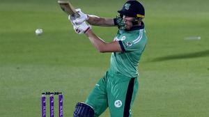 Ireland's Harry Tector helps his side to a memorable victory over England (Adrian Dennis/PA)
