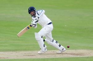 Tom Kohler-Cadmore hit 165 not out in his last competitive appearance for Yorkshire last September (Simon Cooper/PA)