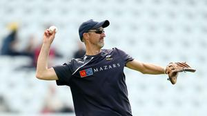 Sussex head coach Jason Gillespie and Australia paceman Josh Hazlewood have questioned the practice of shining the ball with saliva in cricket, after the emergence of the coronavirus (Simon Cooper/PA)