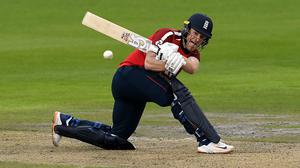 Eoin Morgan led England to victory (Mike Hewitt/PA)