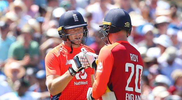 Jason Roy has hailed England team-mate Jos Buttler an 'extreme talent' (Mark Kerton/PA)