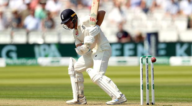 England's Jack Leach was the side's unlikely saviour on the second day of the Test against Ireland (Bradley Collyer/PA)