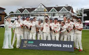 Essex are the reigning county champions (Steven Paston/PA)