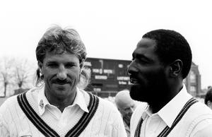 Sir Ian Botham (left) and Sir Viv Richards (right) have lent their names to a new trophy (PA archive)