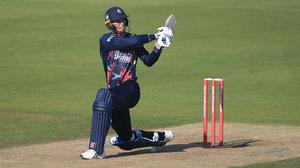 Zak Crawley's brilliant unbeaten 108 swept Kent to an eight-wicket win against Hampshire (Adam Davy/PA)