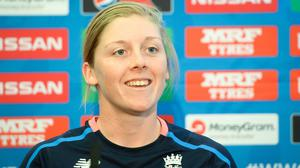 Heather Knight joins the PCA board as one of its two new vice-chairs (Ben Birchall/PA)