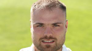 Worcestershire captain Joe Leach.