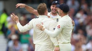 Dom Bess (left) and James Anderson (centre) will miss out (Nigel French/PA)