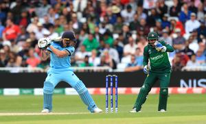 Ben Stokes is caught behind for 13 (Simon Cooper/PA)