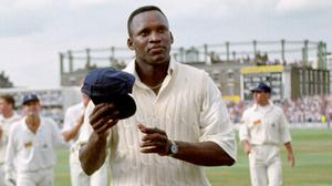Devon Malcolm took nine for 57 runs at The Oval (PA)