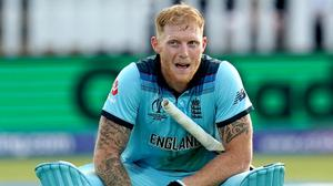 Ben Stokes was not happy with the winner of the Bafta for Sport award (John Walton/PA)