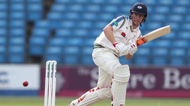 Yorkshire's Gary Ballance top-scored with 30 as bowlers enjoyed the upper hand at Headingley (Mike Egerton/PA)