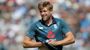 David Willey is back in the England squad (Richard Sellers/PA)