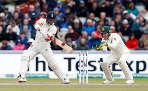 An Ashes century helped Burns establish himself in the England Test side (Martin Rickett/PA)