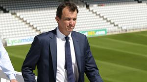 England and Wales Cricket Board chief executive Tom Harrison, pictured, will again be a key figure as cricket bosses look to thrash out a re-jigged season (Yui Mok/PA)