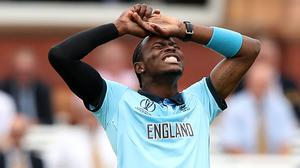 Jofra Archer looks unlikely to fulfil his IPL contract due to injury (Tim Goode/PA)