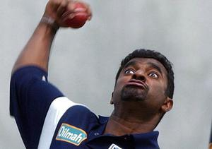 Murali's action was called into question for throwing a number of times during his career (John Giles/PA)